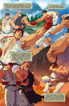 Street Fighter Unlimited Issue #4 - Read Street Fighter Unlimited Issue #4 comic online in high quality