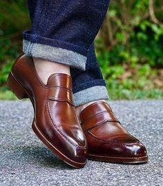 Mens Brown Leather Loafers, Leather Loafer Shoes, Calf Leather, Loafers Men, Leather Boots, Cowhide Leather, Soft Leather, Custom Made Shoes, Custom Design Shoes