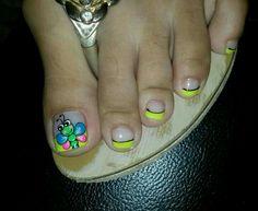 Toe Nail Art, Toe Nails, Toe Polish, Nails For Kids, Toe Nail Designs, Nail Art Galleries, Nail Arts, Pretty Nails, Hair And Nails
