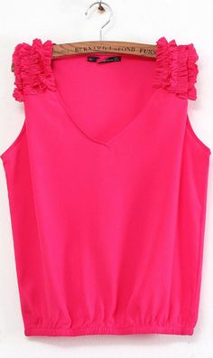 V-neck sleeveless shirt 1726