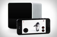 With Petcube you can watch, speak to, and even play with your dog or cat from your smartphone.