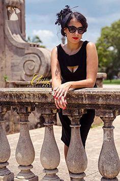 Black Feather Birdcage Fascinator hat - Bridal fashion accessories (*Amazon Partner-Link)
