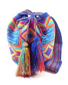 KAANASH OCEAN BLUES WAYUU BAG available at www.shopkokay.com #kokay #wayuubag