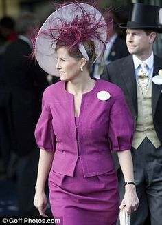 Sophie at Royal Ascot in June