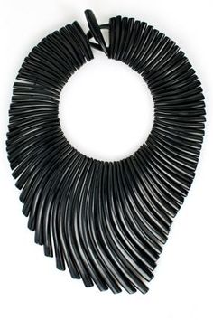 Monies Ebony Wave Necklace #SantaFeDryGoods Available here: http://santafedrygoods.com/product/monies-ebony-wave-necklace-1/ Shop SFDG Monies: http://santafedrygoods.com/pcat/11/?designer_id=44