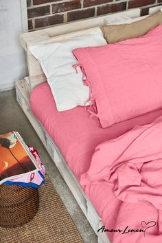 On Paris Fashion Week Hot Pink is already shaping up to be the color of the spring '20 season. Make your bedroom cozy and trendy.