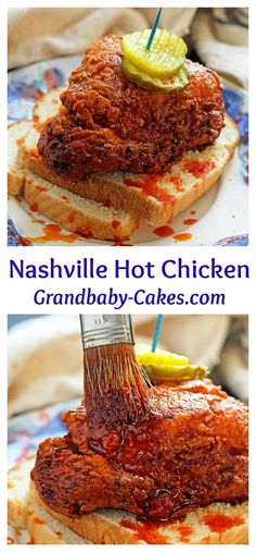 This is the ultimate Nashville Hot Chicken Recipe! Better than Hattie B's! Spicy and crispy golden brown fried chicken gets an extra coating of hot spiced oil taking it over the top. This tastes just as delicious as the Best Hot chicken in Nashville! Best Chicken Recipes, Turkey Recipes, Nashville Fried Chicken Recipe, Nashville Hot Recipe, Tennessee Hot Chicken Recipe, Ultimate Fried Chicken Recipe, Hattie B's Hot Chicken Recipe, Nashville Hot Chicken Sauce Recipe, Chicken Breast Recipes Dinners