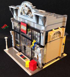 LEGO MOC: LEGO Store Modular Version - Image #02
