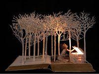 altered book - beautiful
