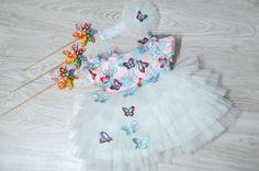 Butterfly #sky Girls Dresses, Flower Girl Dresses, Butterfly, Sky, Wedding Dresses, Flowers, Collection, Design, Fashion