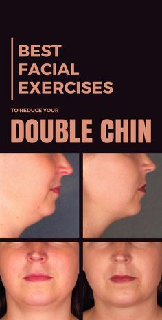 Best Facial Exercises to Reduce Your Double Chin #facial #fitness #exercises #doublechin