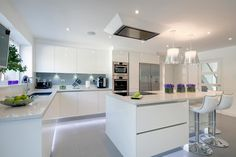 Modern Kitchen Design – Want to refurbish or redo your kitchen? As part of a modern kitchen renovation or remodeling, know that there are a . Best Kitchen Designs, Modern Kitchen Design, Interior Design Kitchen, Modern Design, Diy Interior, House Kitchen Design, Modern Decor, American Kitchen Design, Coastal Interior