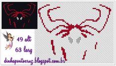 Spider man x-stitch