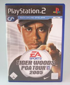 #Tiger #Woods #PGA #Tour #2005 #Sony #Playstation #2 #PS2 #EA #Spiel