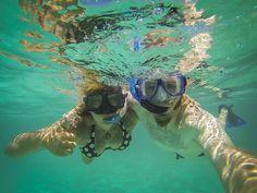 Snorkeling in Akumal-10 by Piratepenpen, via Flickr