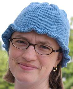 Katherine Vaughan Designs--Katherine Vaughan--Ripple Brim Chemo Cap