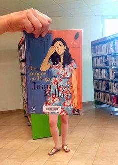 """#bookfacefriday ens vestim fresquetes amb """"Dos mujeres en Praga"""" de Juan José Millás #estiu #divendres"""