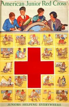 By Paul Martin, Published on American Juniors, International Red Cross, Paul Martin, Cross Pictures, Old Commercials, American Red Cross, Facebook Photos, Magazine Covers, 3
