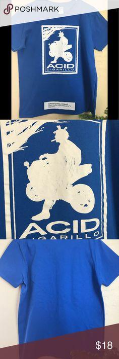 ACID Cigar Tee w/ Surgeon General Warning ⚠️ Acid Cigar Tee in great used condition Gildan Shirts Tees - Short Sleeve