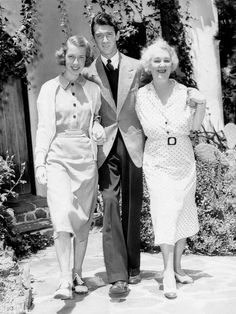 Jimmy Stewart with mother Elizabeth and sister Mary