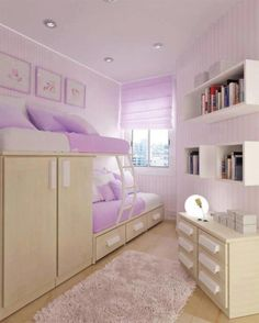 Modern Teen Room Design