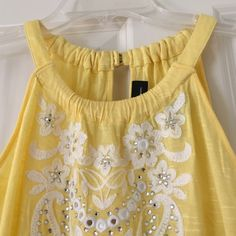 INC sleeveless top Super cute top by INC International Concepts. New, never worn. Size S. Machine washable. INC International Concepts Tops Tank Tops