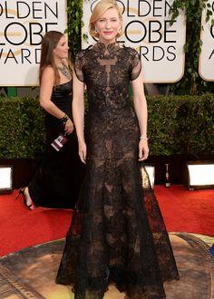 Cate Blanchett Golden Globes 2014