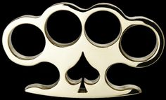 'Spade' - Custom Made Brass Knuckles [AMK-1008] - $99.00 : Brass Knuckles Company | Call Toll Free 1-888-604-2296