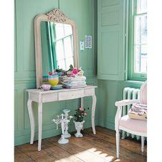 Table console bois grisé Aliette | Maisons du Monde