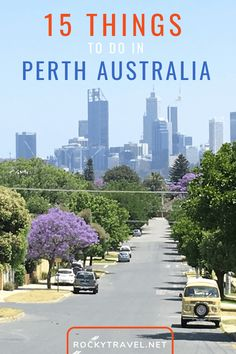 Perth is the sunniest, most isolated and exciting city in the world. Here is my solo travel guide with 15 fun things to do in Perth Western Australia. Melbourne, Brisbane, Travel Advice, Travel Guides, Travel Tips, Amazing Destinations, Travel Destinations, Holiday Destinations, Cottesloe Beach