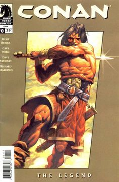 Conan #0 by Cary Nord. 8 Free Comics from Dark Horse Comics