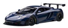 F/S AUTOart MCLAREN MP4-12C GT3 AZURE BLUE 81344 1/18 Scale Model Car from Japan #AUTOart #MCLAREN