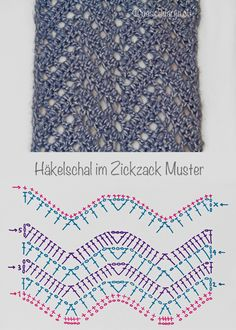 Crochet: Chevron Lace Scarf                                                                                                                                                                                 Mehr