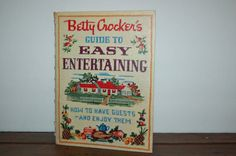 Vintage Betty Crocker Book Guide to Easy by JunkyardElves on Etsy