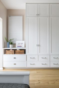 Good Ideas for the Kitchen & Bath Bedroom Built In Wardrobe, Bedroom Built Ins, Bedroom Closet Doors, Bedroom Closet Design, Bedroom Wardrobe, Closet Designs, Home Bedroom, Bedroom Decor, Wall Of Closets