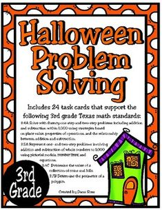 Includes 24 task cards that support the following 3rd grade Texas math standards: 3.4A Solve with fluency one-step and two-step problems including addition and subtraction within 1,000 using strategies based on place value, properties of operations, and the relationship between addition and subtraction. 3.5A Represent one- and two-step problems involving addition and subtraction of whole numbers to 1,000 using pictorial models and equations. 3.4C Math 5, 5th Grade Math, Math Class, Teaching Math, Strip Diagram, Math Projects, Adding And Subtracting, Addition And Subtraction, Word Problems