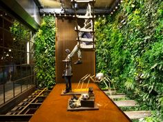 Replay BCN, jardin vertical