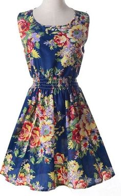 Beautiful floral dress #COOLFASHION #Casual