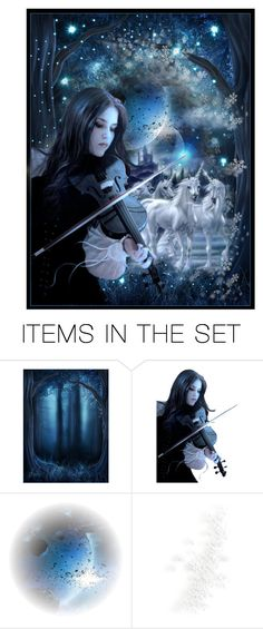 """Unicorn Song"" by adaline-blooms ❤ liked on Polyvore featuring art"