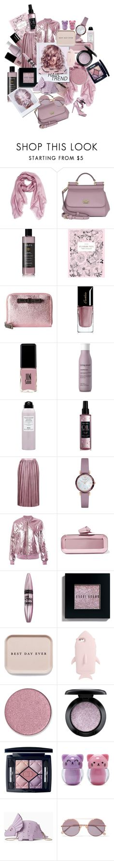 """Hello Pretty"" by numbsunday ❤ liked on Polyvore featuring beauty, Echo, Dolce&Gabbana, Philip B, Chronicle Books, Marc Jacobs, Guerlain, Jin Soon, Living Proof and Matrix Biolage"