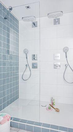 Een dubbele douche dubbel zoveel genot interieur pinterest toms tips en zoeken - Deco badkamer vintage ...