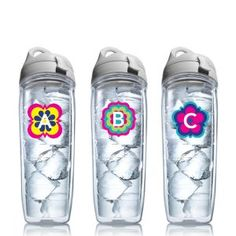 Initial Tervis Tumbler Water Bottle Drink Bottles, Water Bottles, Tervis Tumbler, Awesome Things, Gift Guide, Health And Wellness, Christmas Ideas, Favorite Things, Initials