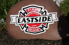 Eastside fire department rock