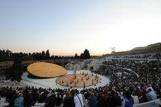 Galeria de Cenografia e Arquitetura: Anfiteatro Grego em Siracusa / OMA - 1