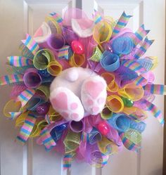 Hey, I found this really awesome Etsy listing at https://www.etsy.com/listing/219770183/easter-wreath-easter-bunny-wreath-bunny