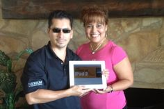 Congrats Rodrigo and Liz, on earning your Ipad from Nerium!