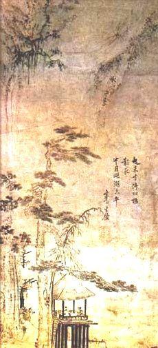 (Korea) by Choi Buk (1712- 1760?). aka Seven-Seven. ca 18th century CE. color on paper.