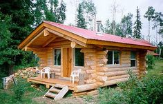 House Wirklich süßes kleines Blockhaus About Chinese Diet Teas: Are They Safe? Diy Log Cabin, Little Log Cabin, How To Build A Log Cabin, Small Log Cabin, Building A Cabin, Log Cabin Kits, Tiny House Cabin, Log Cabin Homes, Building Homes