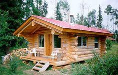 Log Cabin On Pinterest Building A Log Cabin Log Cabins And A Log
