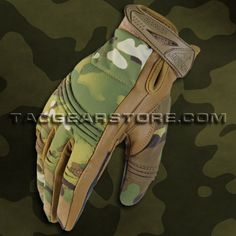 Condor Tactician Tactile Gloves - Multicam